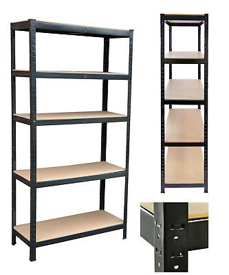 1500 x 700 x 300 mm 3X Work Rack Boltless Storage Heavy Duty Shelve 5 Tier BL