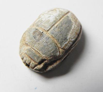 Zurqieh -Af335- Ancient Egypt , 2Nd Intermediate Scarab. 1650-1550 B.c 2