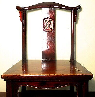 Antique Chinese High Back Chairs (5614) (Pair), Circa 1800-1849 8