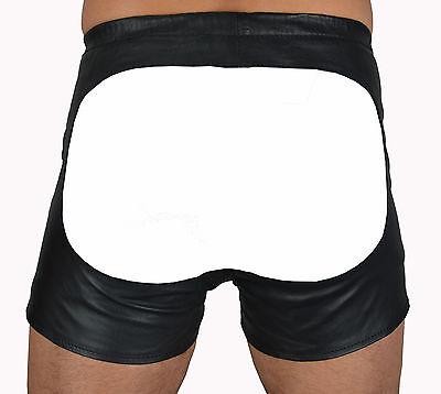 533 aus lammnapa PO frei ledershorts Gay Kurze Lederhose,leder shorts leather 3