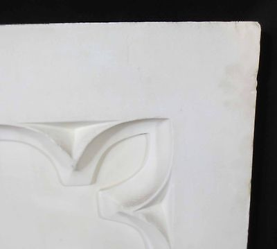 Antique Architectural Religious Italian Carved Marble Altar Angel/Cherub PANEL#1 5