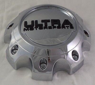 ULTRA MOTORSPORTS Wheels CHROME Center Cap # 89-9898 Custom Cap QTY. 1