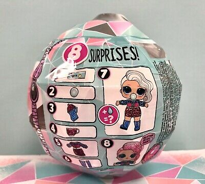 LOL Surprise Winter Disco Series Glitter Globe Doll New Ball SHIPS TODAY 2
