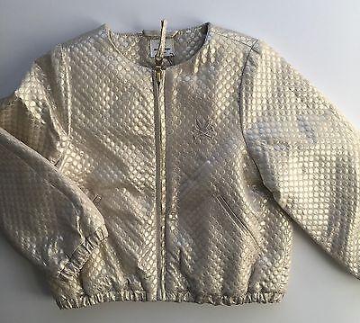 No Added Sugar Girls Amazing Gold Bomber Jacket Size 2-3 Years BNWT 9