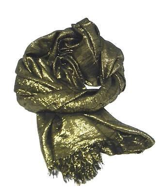 a4af77b3d1cf5f ... Novita stola donna lurex riflessi oro argento modal cerimonia made in  italy 6