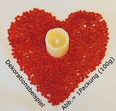1000 Tropfen Perlen Dekogranulat 5-6mm 100g Streudeko - MADE IN GERMANY