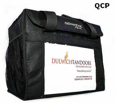 Food Delivery Bag- Hot Or Cold Food- Fully Insulated- Large 6