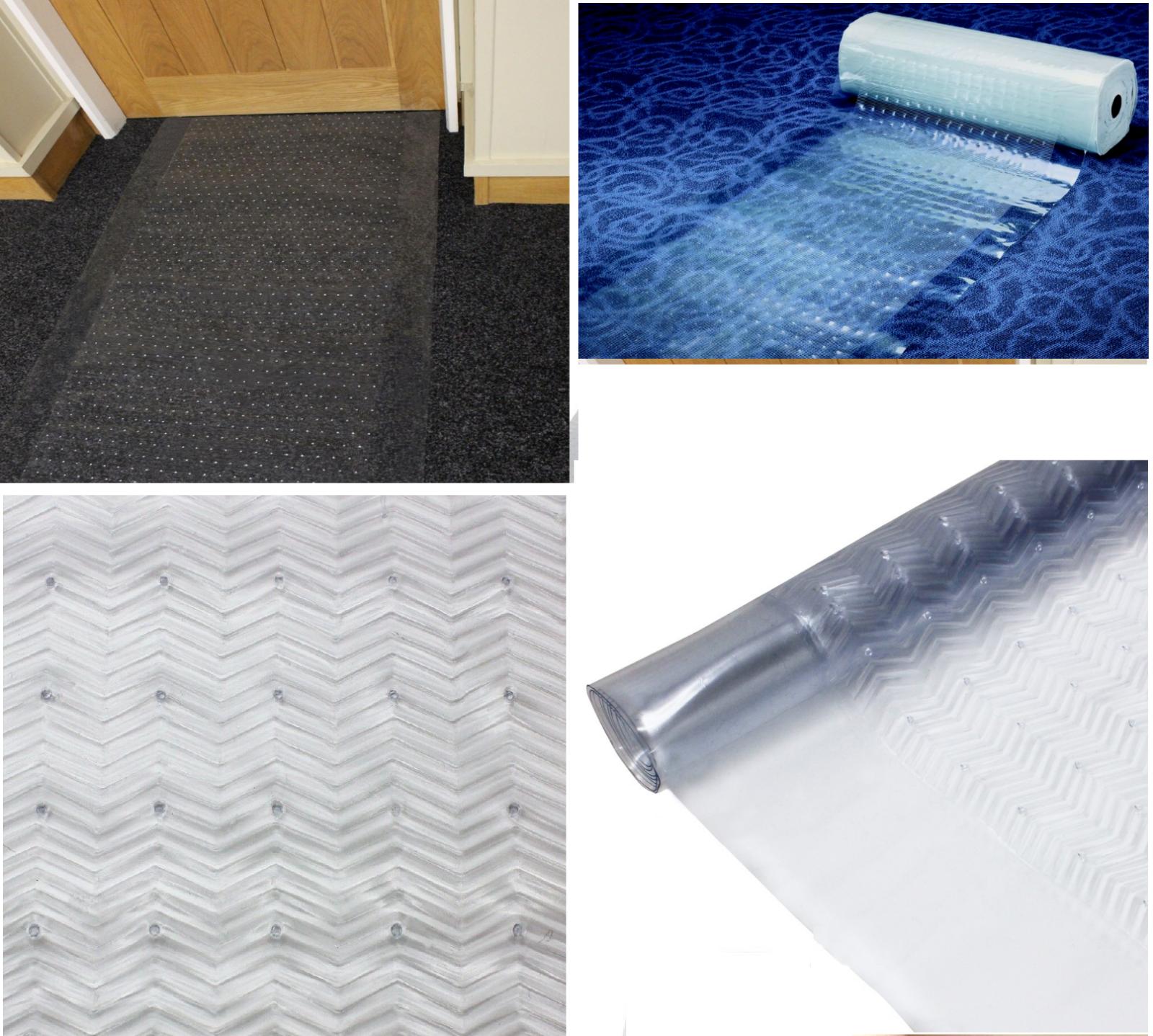 Carpet Protector Heavy Duty Vinyl Roll Clear Plastic Runner Office Hallway Mats 7 95 Picclick Uk