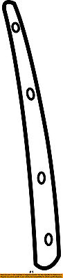 SUBARU OEM 02-07 Impreza Exterior-Pillar Cover Right 63563FE020