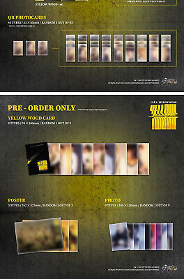 STRAY KIDS CLE 2:YELLOW WOOD Album NORMAL 2VerSET+POSTER+Book+Card+GIFT+PreOrder 8
