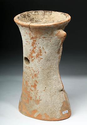 Tall / Important Greek Terracotta Censer - Female Lot 31A