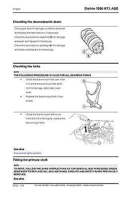 moto guzzi stelvio 4v 1200 service repair workshop manual