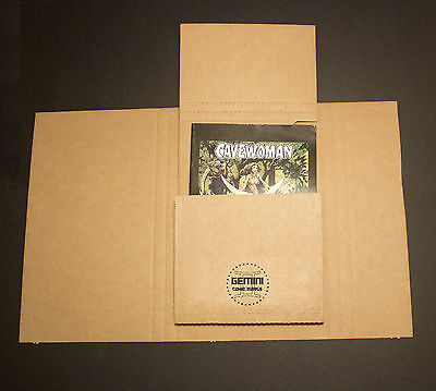 100 GEMINI Comic Book Flash Mailers + 50 Divider Pads Combo (Best protection!)* 2