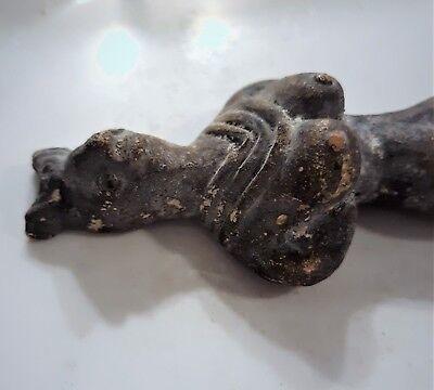 Indus Valley Terracotta Venus Goddess Idol Votive Statuette 3