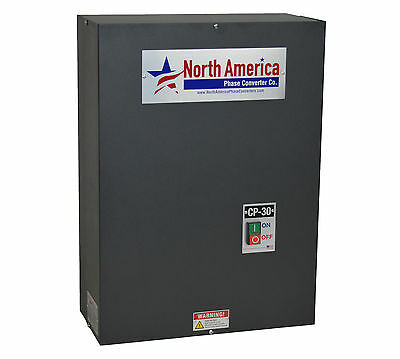 Rotary Phase Converter Control Panel CP-30 Pro-Line 30HP  - Add your Idler Motor