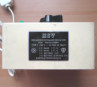 HSV Trafo Dänemark Regulierungs-Transformator Wechselstrom Holzgehäuse Sammler