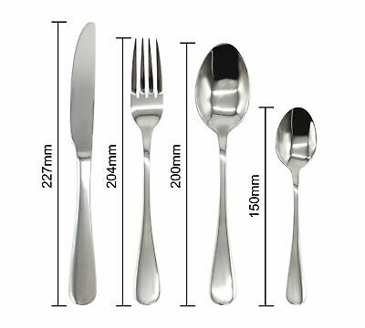 Stainless Steel Cutlery Sets Spoon Fork 8/16/ 24 piece/32 piece set Dinner 2