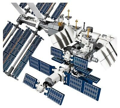 LEGO Ideas Internationale Raumstation 21321 Satelliten NASA Mini-Spaceshuttle 4