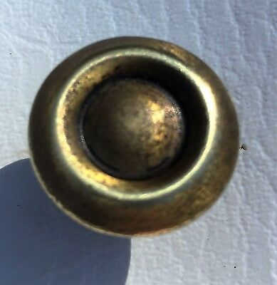 "Cabinet knob Brass ""finger pulls""  drawer pull Duncan Phyfe antique hardware 7"
