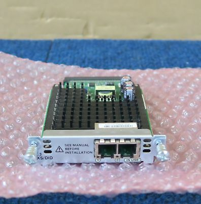 CISCO VIC3-2FXS//DID 2-Port High-Density Voice Fax Interface Card VIC3 2FXS DID