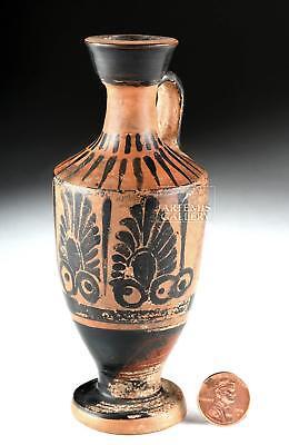 Greek Attic Lekythos with Black-Figure Palmettes Lot 15