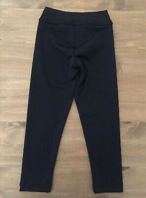 Girls GK Black Gymnastics Leggings Size CXS 3