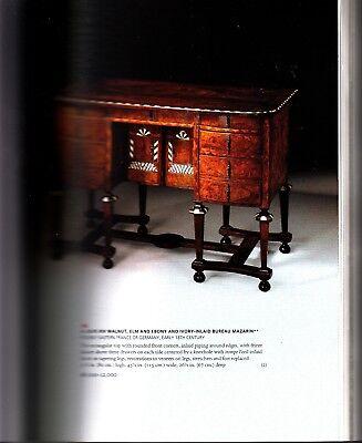 Christie's New York European Furniture Art Tapestries Sculpture March 28 2007 2