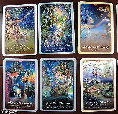 NEW Whispers of Love Oracle Cards Tarot Angela Hartfield Josephine Wall psychic 5