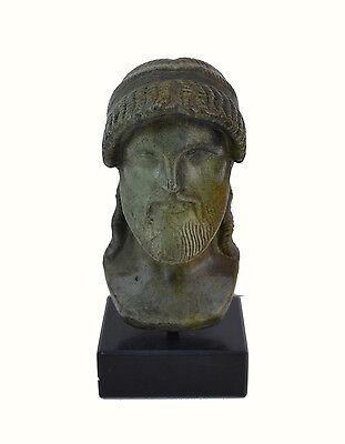 Zeus bust head God King of  all Ancient Greek Gods sculpture artifact 2