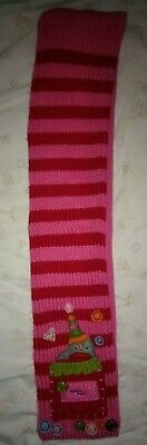 Next Girl's Pink/red Scarf Age 3-6 Months Mois 4