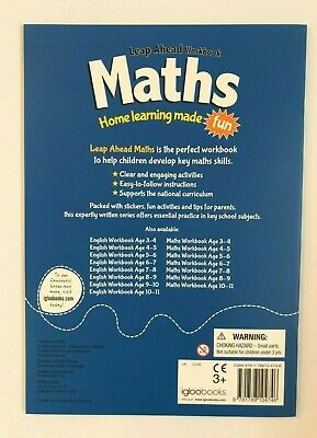 KS2 Maths & English Leap Ahead Home Learning Workbooks Set Ages 9-10 New Year 5 5