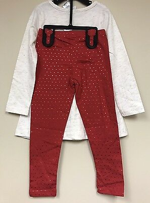 Disney Junior Minnie Mouse Girls Character 2 Piece Set - Size: 4T           AB-2