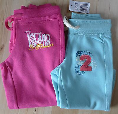 Mädchen Sweathose Sporthose Freizeithose mint pink Gr. 116, 128, 140, 152, 164 2