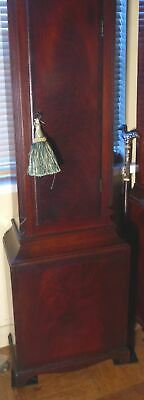 "Antique   Mahogany  ""  Wotton ""  8 Day   Grandfather / Longcase Clock 6"