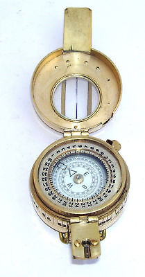 Military Compass Engineering Compass Prismatic Vintage Nautical Style Handmade 8
