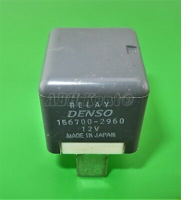 1998-2014 Main Fan 4-Pin Grey Relay Denso 156700-2960 12V 623-Suzuki /& Subaru