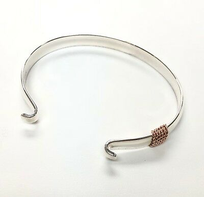 LeStage Sterling Silver Convertible Bracelet SB5401-6MM Wide