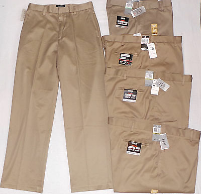 3ab1f9d2e5cb29 ... 2 of 7 Dockers D3 Signature Khaki Classic Fit Flat Front Pants Dark  Khaki 408510003 3