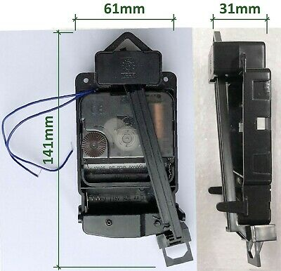 Quartz movement chiming clock kit set or parts, Young Town 12888, shaft 14mm, UK 9