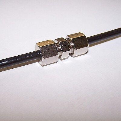 Bremsleitungsverbinder 4,75mm Bremsleitung Verbinder 10 Stück Ford Fiesta