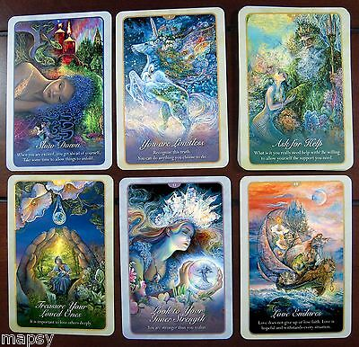 NEW Whispers of Love Oracle Cards Tarot Angela Hartfield Josephine Wall psychic 6