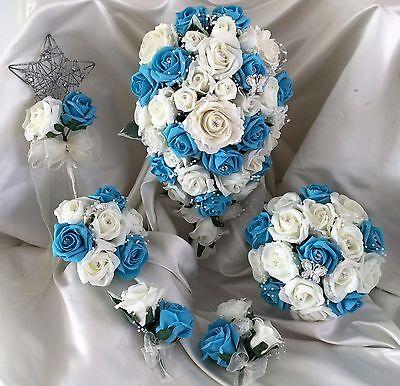 Fiori Matrimonio Mazzo di fiori, Perle & Strass Spose/Damigella/Asole 9