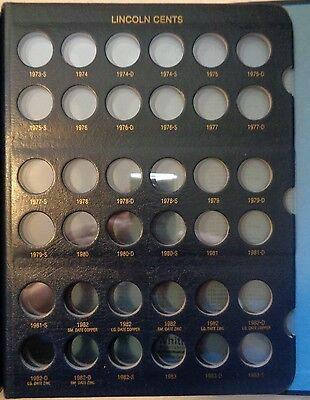 Whitman Classic Lincoln Cents Album 1909-1995, New 10