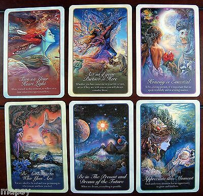 NEW Whispers of Love Oracle Cards Tarot Angela Hartfield Josephine Wall psychic 9