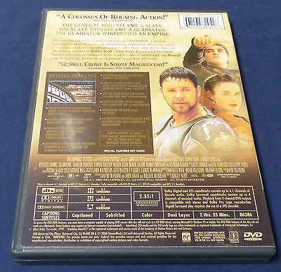 Gladiator Signature Selection (Two-Disc Collector's Edition)  Widescreen DVD 6