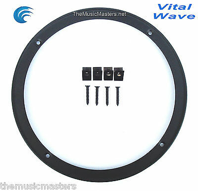 """2X 10/"""" inch Sub Woofer /""""Clipless/"""" Fine Mesh GRILL Speaker Protective Cover VWLTW"""