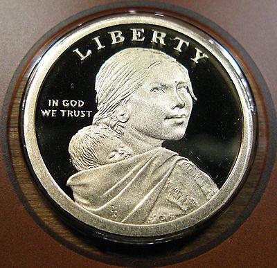 2013 P D S Native American Sacagawea Dollar Set 2 BU Mint Set Coins 1 Proof Coin 6