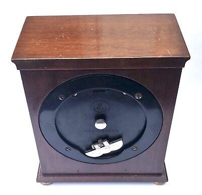 ELLIOTT LONDON Walnut Bracket Mantel Clock GARRARD & CO  112 REGENT ST LONDON 3