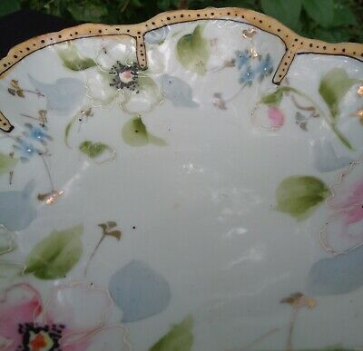 ANTIQUE EARLY Hand Painted MORIAGE Japanese PORCELAIN BOWL MADE IN JAPAN 9