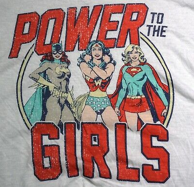DC Comics Justice League Damen Pyjama Bad Girls N1210